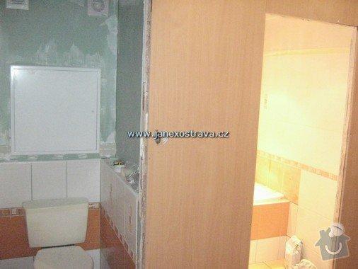 Rekonstrukce koupelny a WC: 12