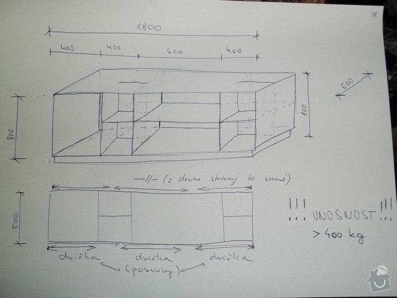 Stolařina (výroba skříněk): skrinka2