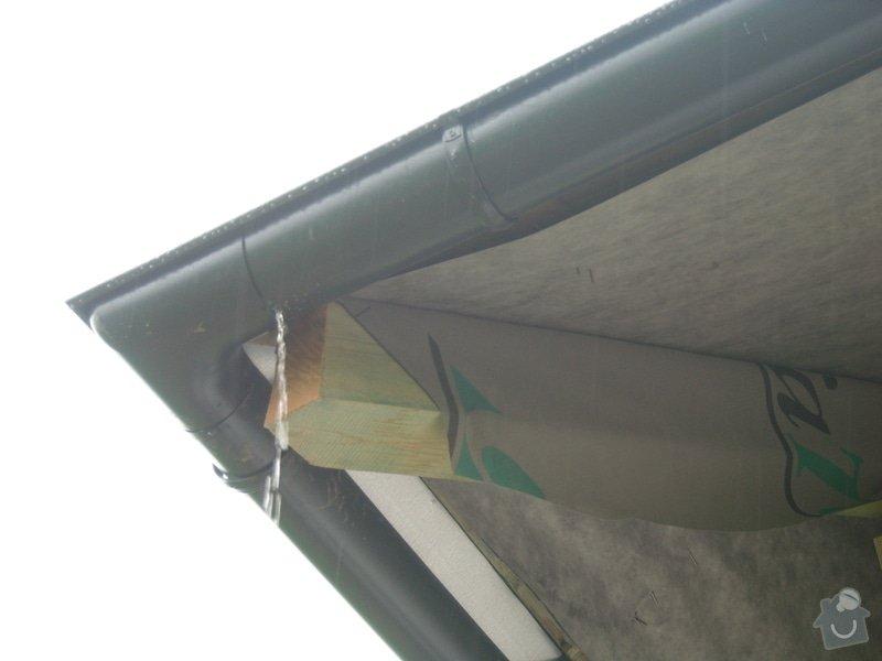 Pokrytí střechy šindelí + klempířské práce: snimek_080