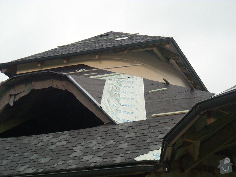 Pokrytí střechy šindelí + klempířské práce: snimek_034