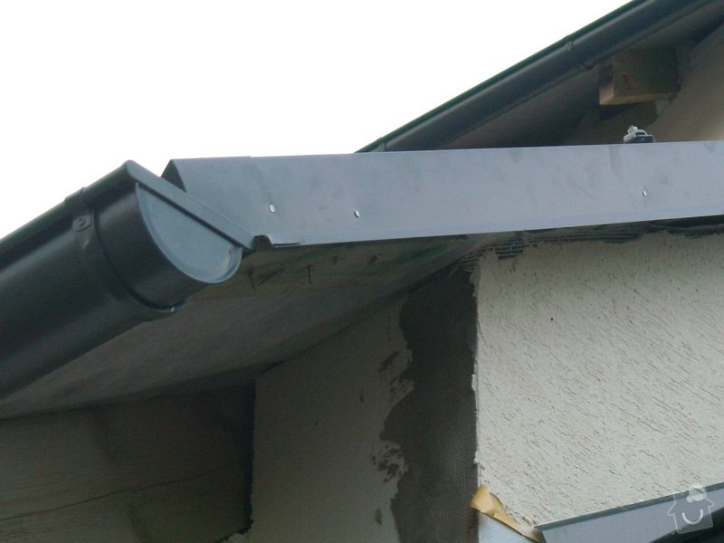 Pokrytí střechy šindelí + klempířské práce: snimek_130