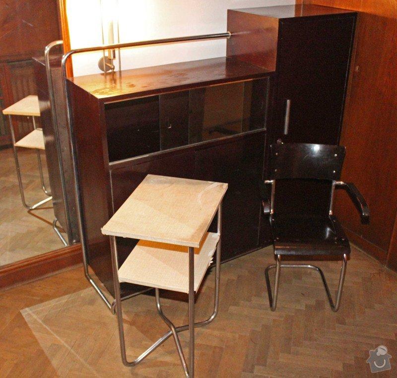 Lakování nábytku: Sekretar_stolek_kresilko