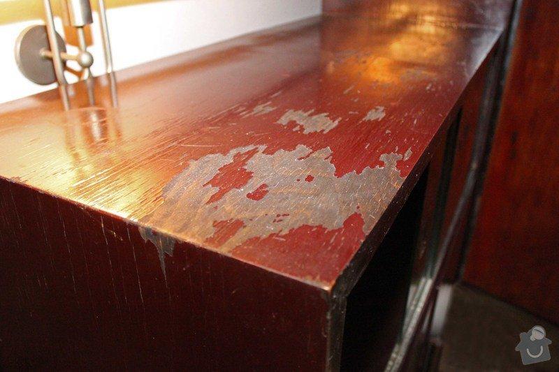 Lakování nábytku: Sekretar_II