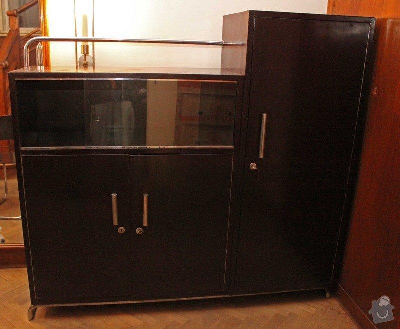 Lakování nábytku: Sekretar