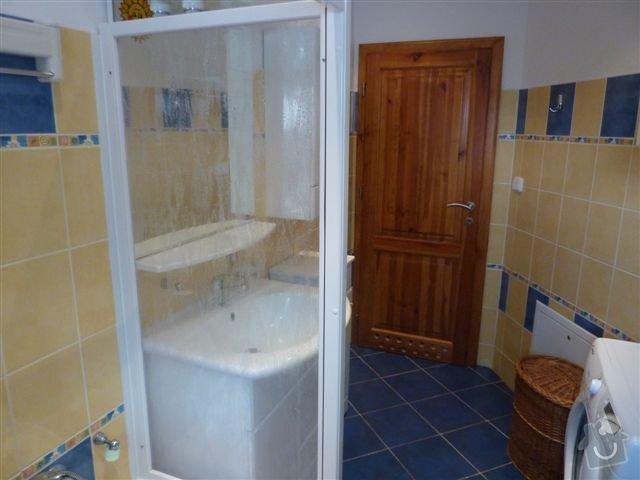 Rekonstrukce koupelny spojené s WC na klíč: koupelna10