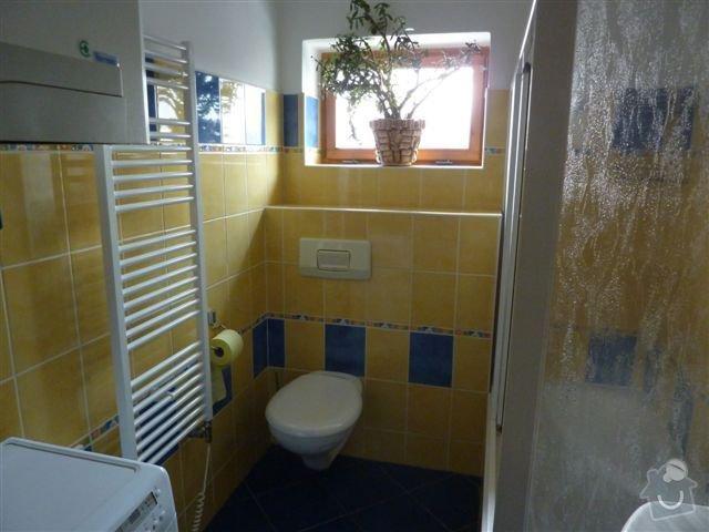 Rekonstrukce koupelny spojené s WC na klíč: koupelna1