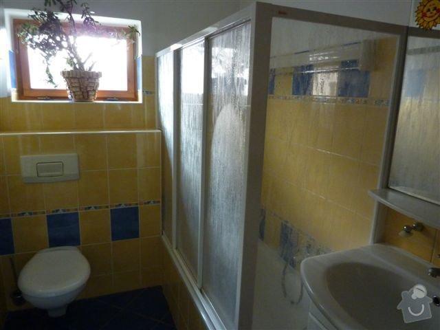 Rekonstrukce koupelny spojené s WC na klíč: koupelna5