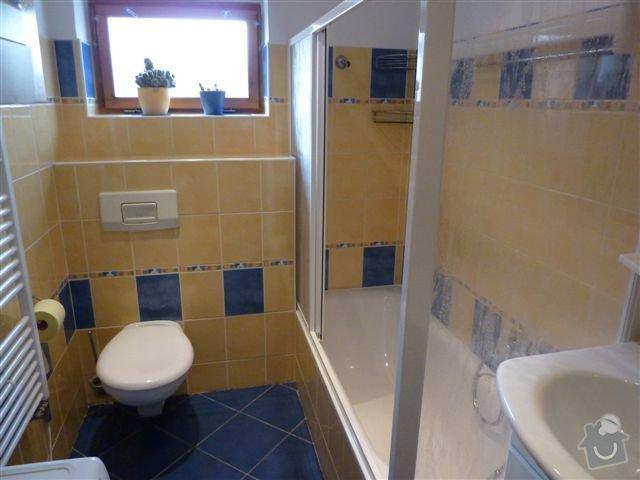 Rekonstrukce koupelny spojené s WC na klíč: koupelna6