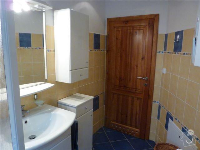 Rekonstrukce koupelny spojené s WC na klíč: koupelna9
