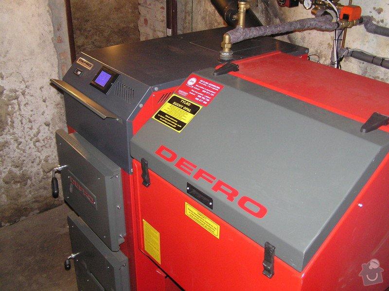 Instalace automatického kotle DEFRO: 062