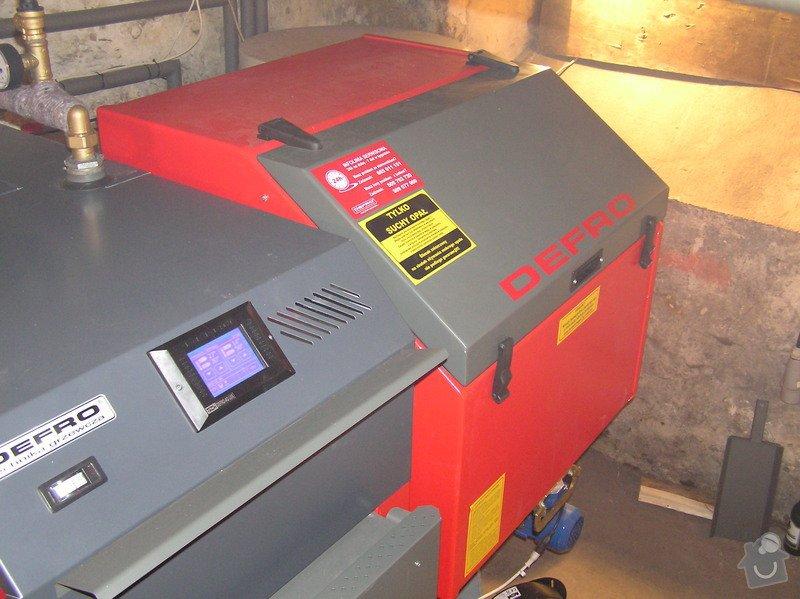 Instalace automatického kotle DEFRO: 034