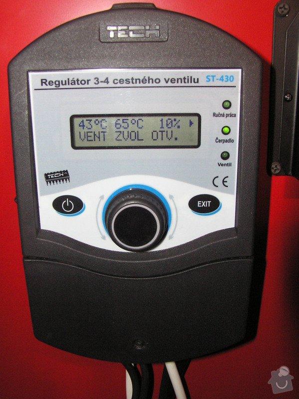 Instalace automatického kotle DEFRO: 055