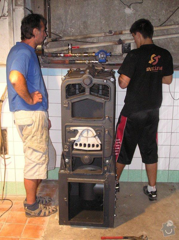 Výměna starého kotle Verner za automatický kotel EKO Perfekt : 008