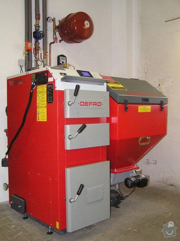 Výměna kotle DAKON za automatický kotel na tuhá paliva  DEFRO : 013