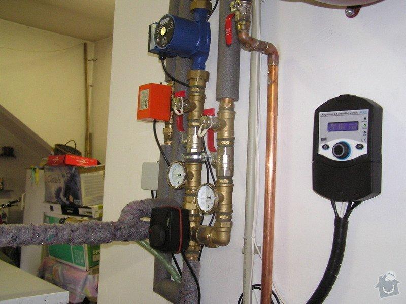 Výměna kotle DAKON za automatický kotel na tuhá paliva  DEFRO : 015