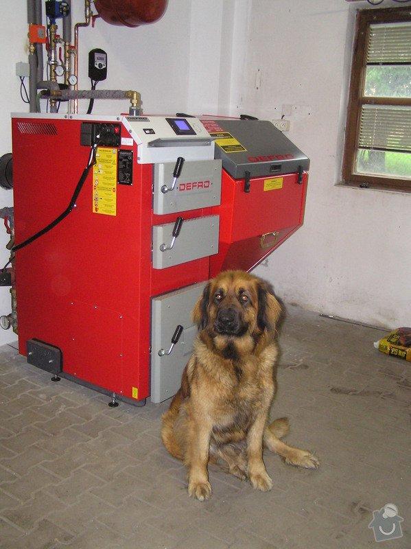 Výměna kotle DAKON za automatický kotel na tuhá paliva  DEFRO : 034