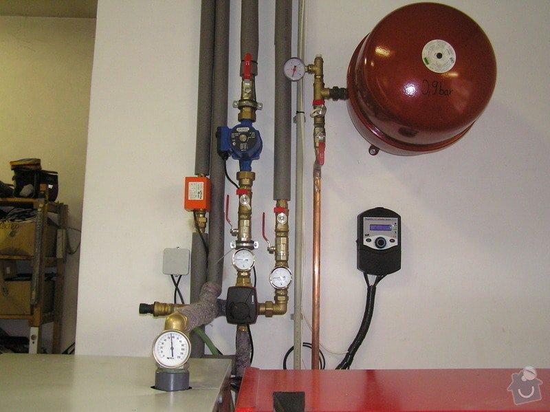 Výměna kotle DAKON za automatický kotel na tuhá paliva  DEFRO : 011