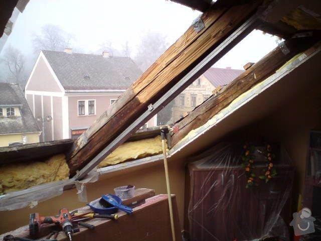 Výměna střešních oken: DSC00411