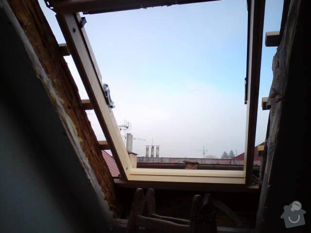 Výměna střešních oken: DSC00417