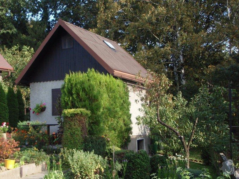 Střecha zahradní chatky: P9280058
