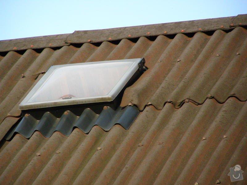 Střecha zahradní chatky: PB020217