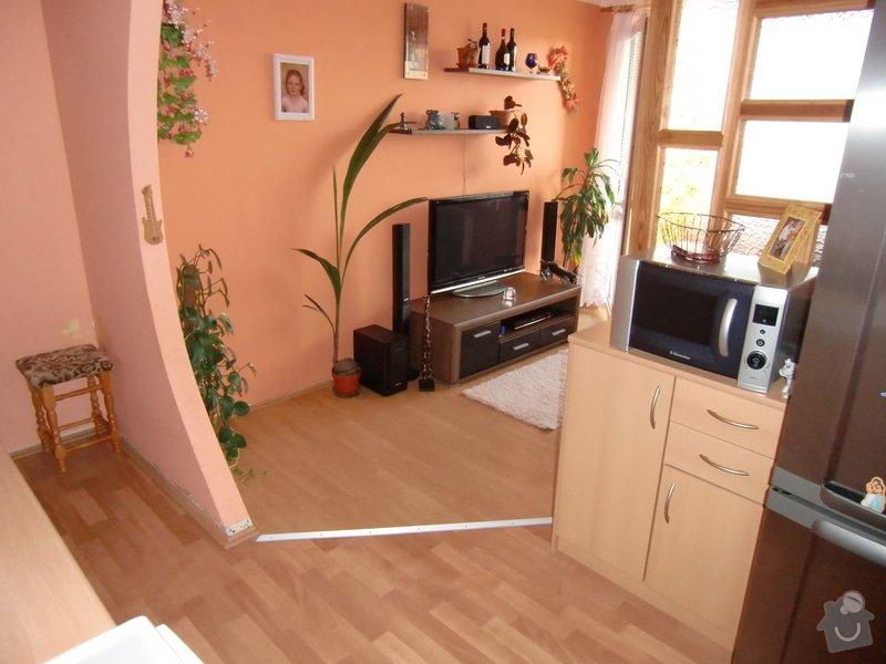 Rekonstrukce kuchyně + obývacího pokoje: CIMG2025