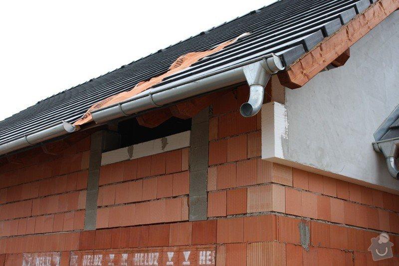 Výstavba střechy rodinného domu - novostavba: IMG_4654