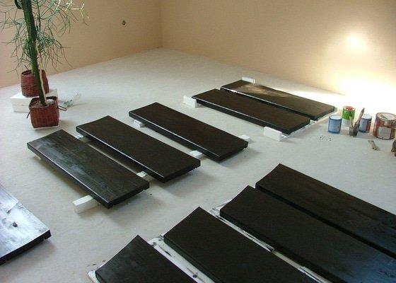 Příprava schodnic na míru včetně montáže