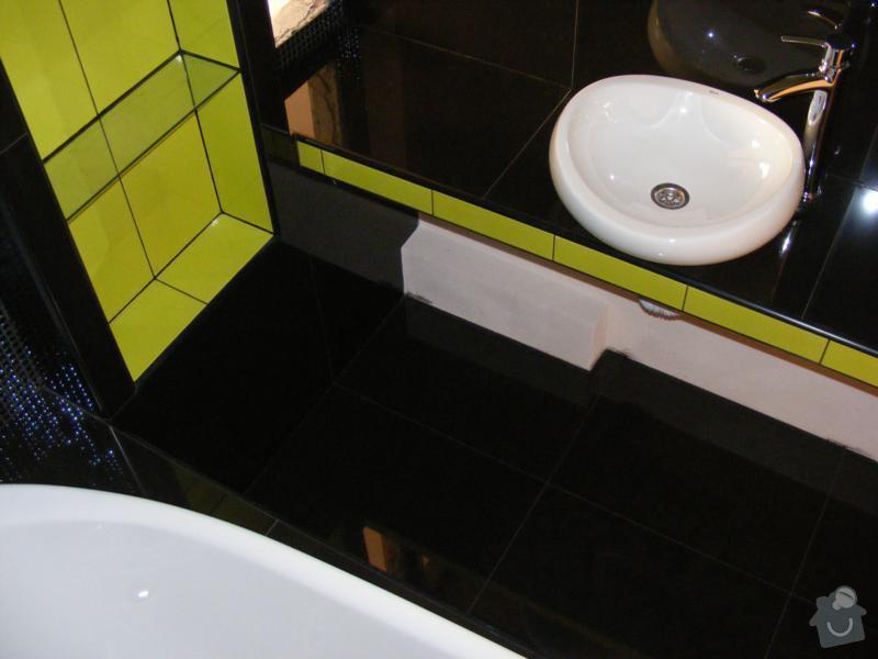 Rekonstrukce koupelny v luxusní koupelnu. Instalatérské práce.: reference-komplexni-sluzby-poloch-3