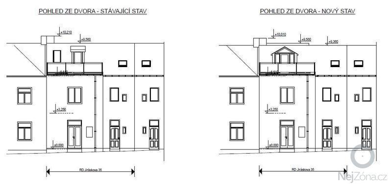 Půdní nástavba: pohled2
