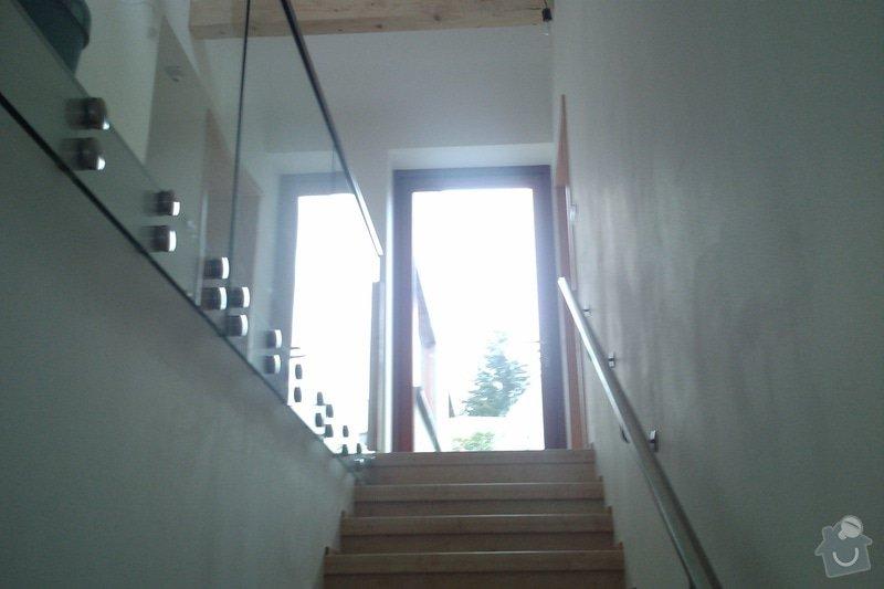 Renovace schodů,nové skleněné zábradlí: Vrane3