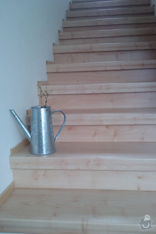 Renovace schodů,nové skleněné zábradlí: Vrane5
