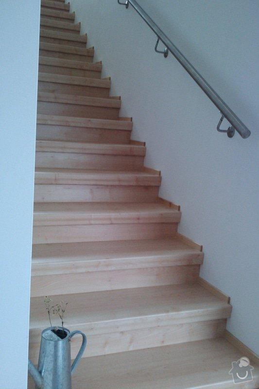 Renovace schodů,nové skleněné zábradlí: Vrane6