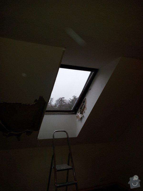 Oprava šikminy a výměna střešního okna: 20111227_094736