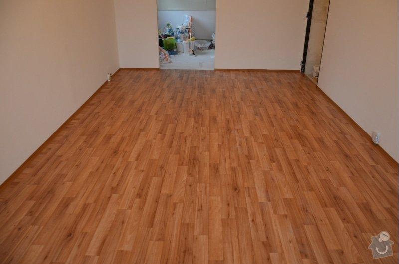 Položení PVC 30 m2 + olištování: podlaha_c