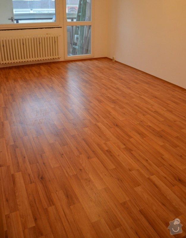 Položení PVC 30 m2 + olištování: podlaha_a