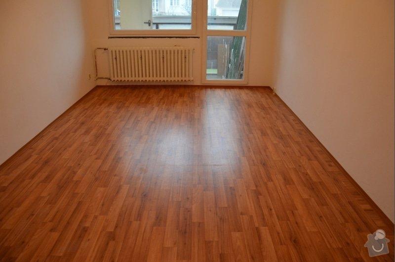 Položení PVC 30 m2 + olištování: podlaha_b