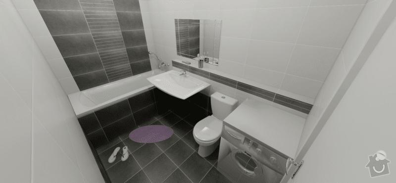 Rekonstrukce koupelny cca 5m2: koupelna_vizualizace_1
