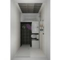 Rekonstrukce koupelny cca 5m2 koupelna vizualizace 3