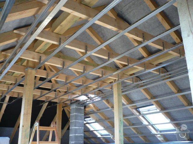 Zhotovení sádrokartonových konstrukcí: P1060007