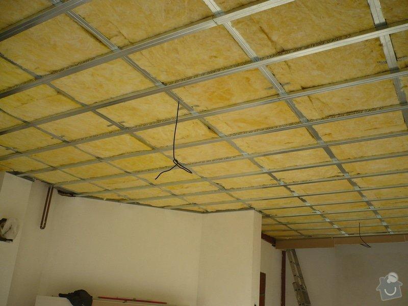 Zhotovení sádrokartonových konstrukcí: P1060279