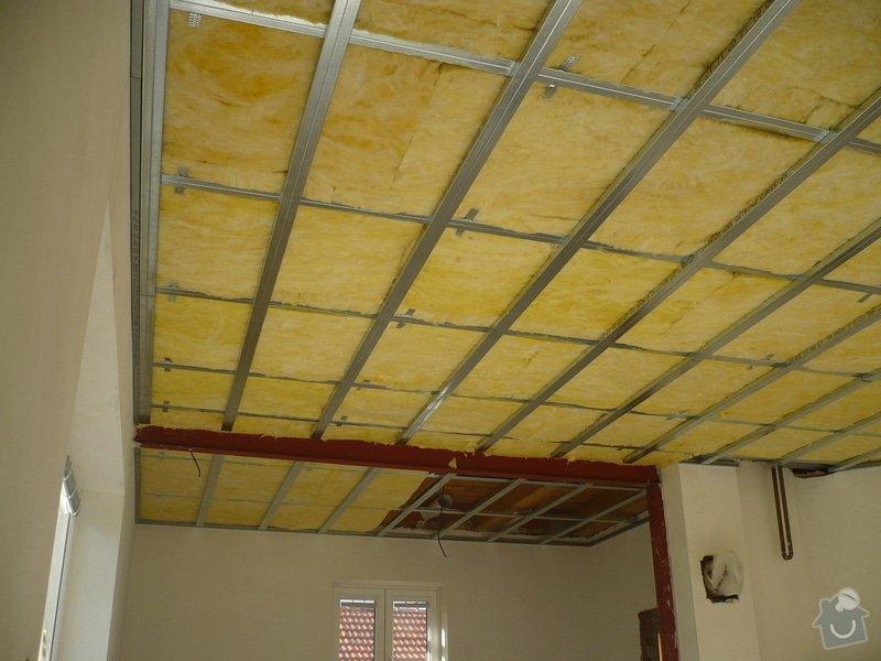 Zhotovení sádrokartonových konstrukcí: P1060280