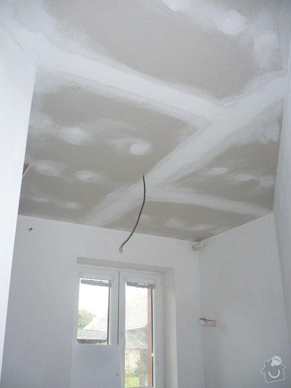 Zhotovení sádrokartonových konstrukcí: P1060313