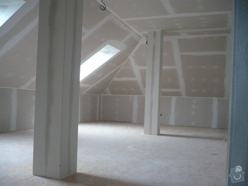 Zhotovení sádrokartonových konstrukcí: P1060328
