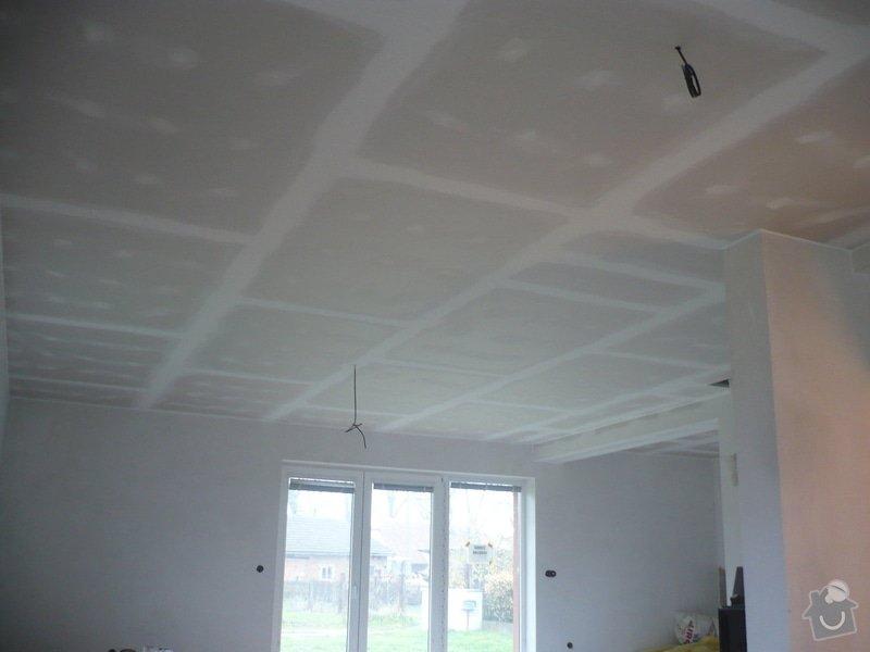 Zhotovení sádrokartonových konstrukcí: P1060420