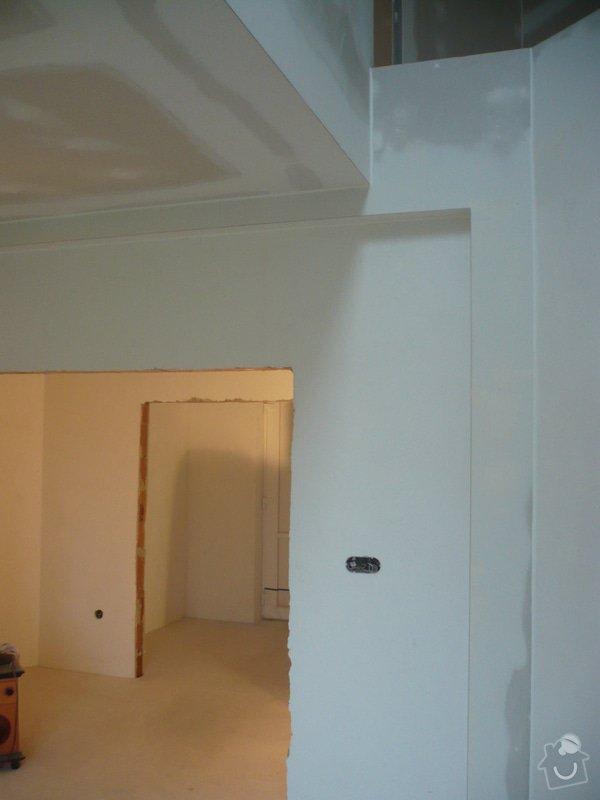 Zhotovení sádrokartonových konstrukcí: P1060421