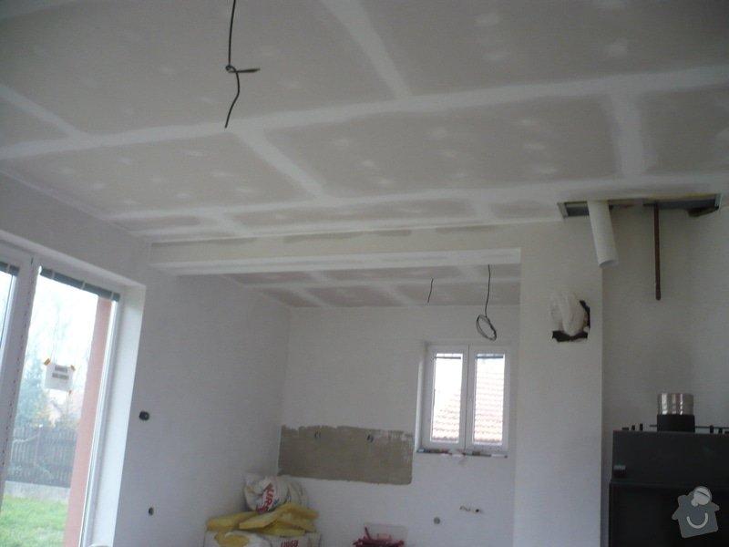 Zhotovení sádrokartonových konstrukcí: P1060422