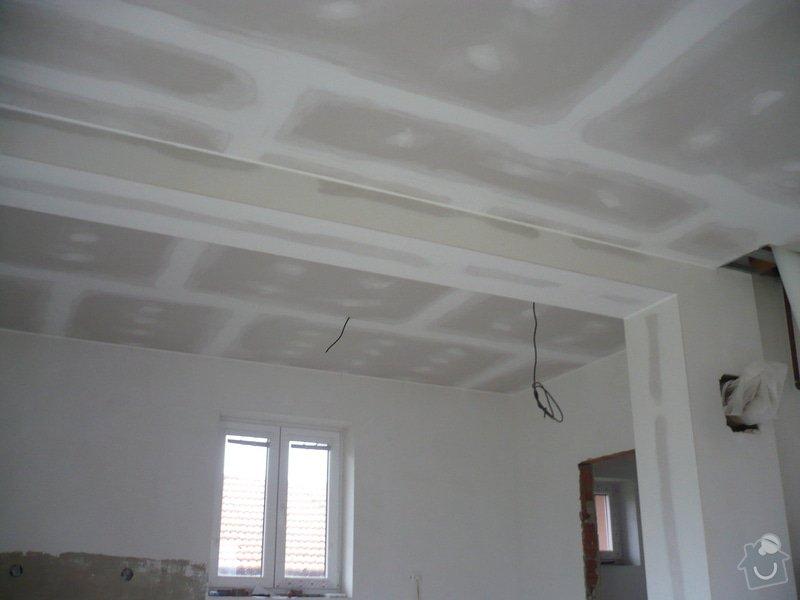 Zhotovení sádrokartonových konstrukcí: P1060424