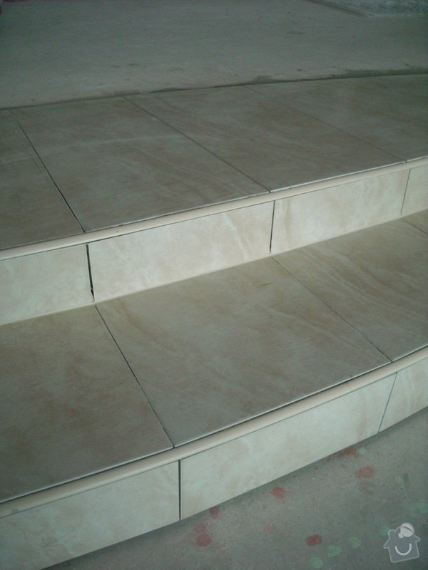 Položení dlažby - schod: snimek_018