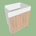 Vyroba nabytku do koupelny umyvadlova skrinka